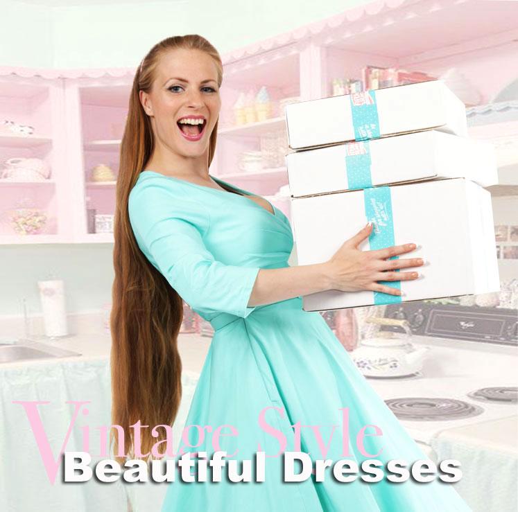 Beautiful vintage stijl Dresses