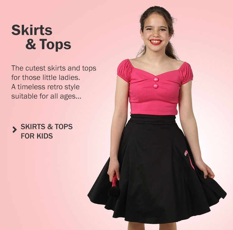 Retro Skirts & Tops