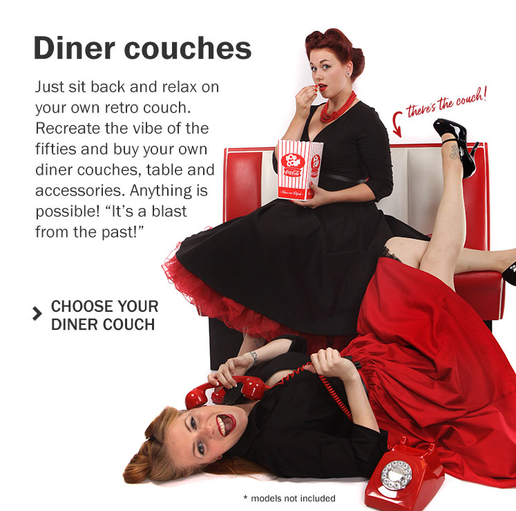 Retro Diner Couches