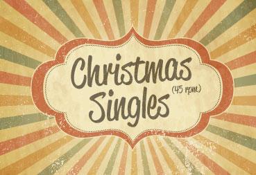 Vinyl Kerst Singles