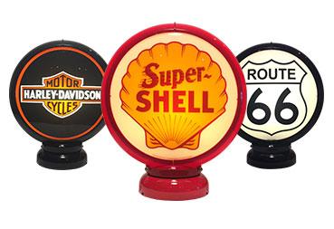 Gas Pump Globes