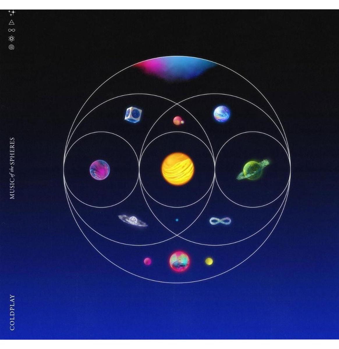 Coldplay - Music Of The Spheres (Gekleurd Vinyl) LP