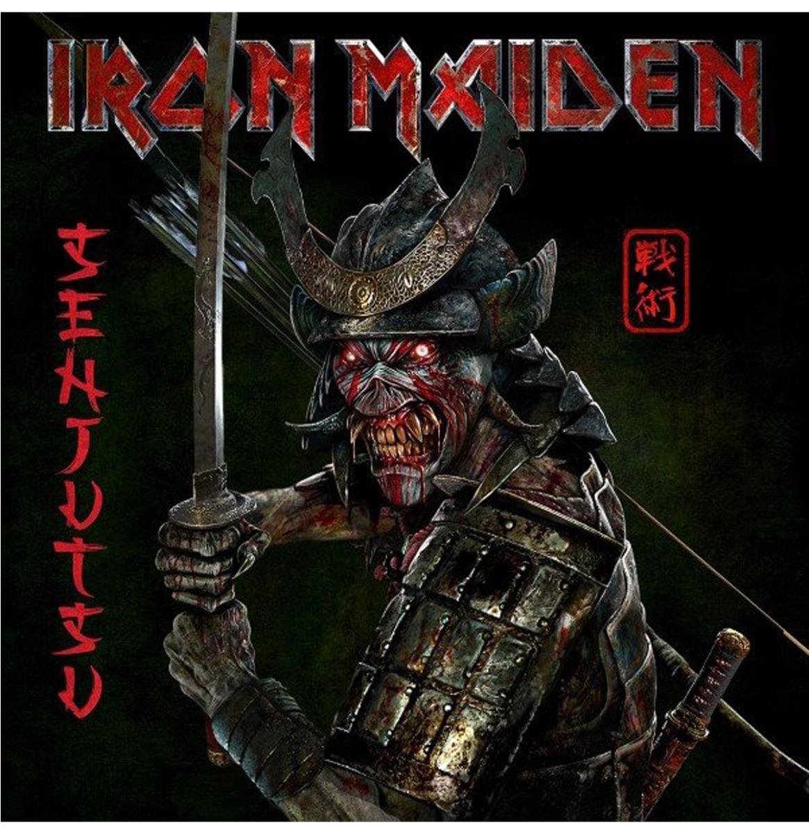 Iron Maiden - Senjutsu (Gekleurd Vinyl) (Indie Only) 3LP
