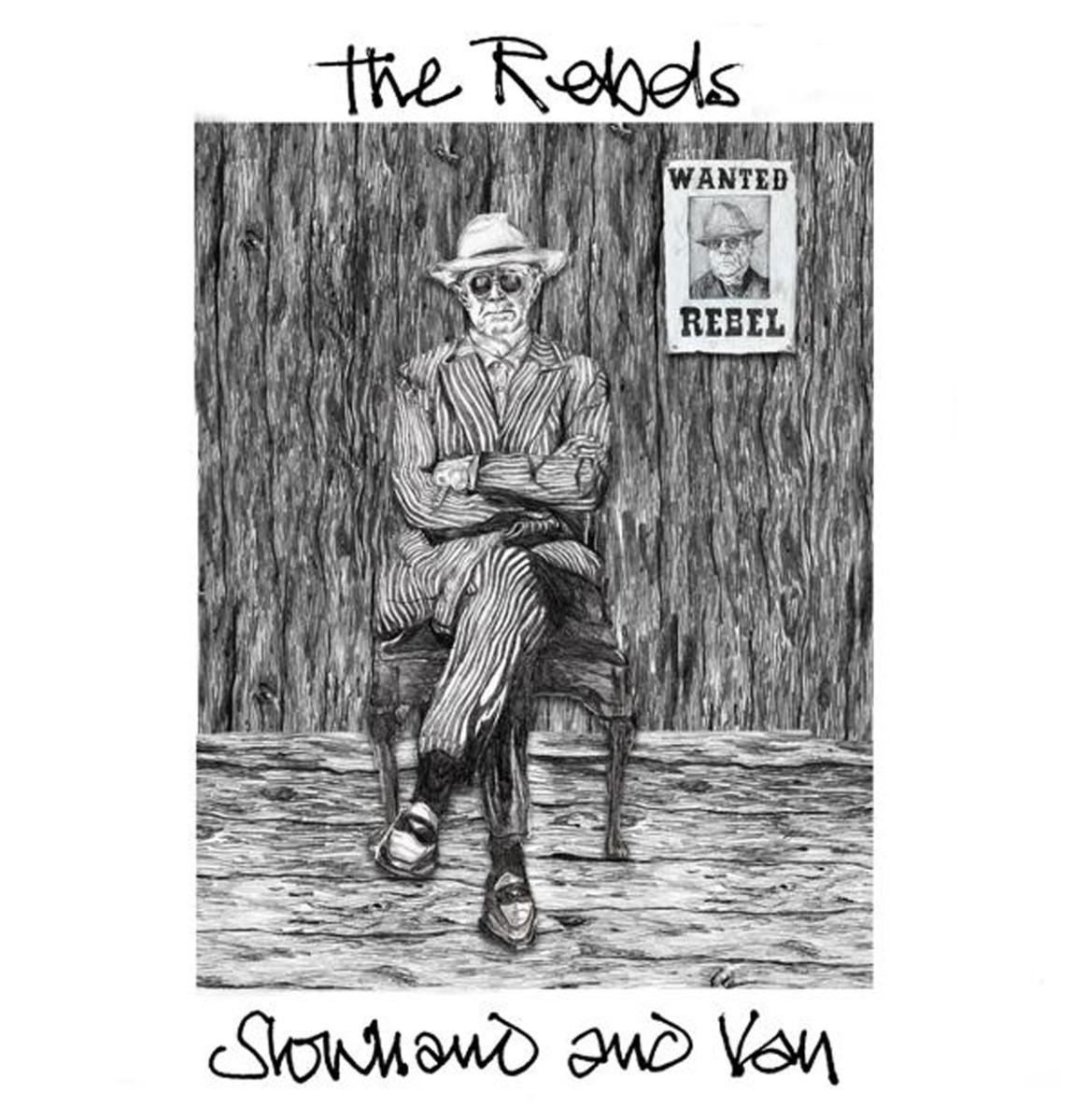 "Slowhand & Van (Eric Clapton & Van Morrison) - Rebels 12"" Vinyl"