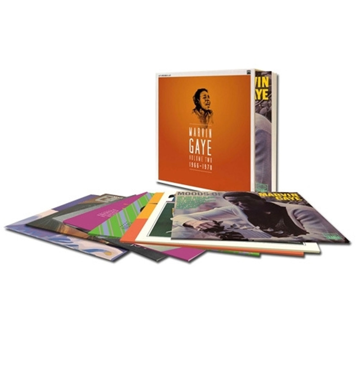Marvin Gaye - Volume Two 1966-1970 8-LP Box Set - Beperkte Oplage