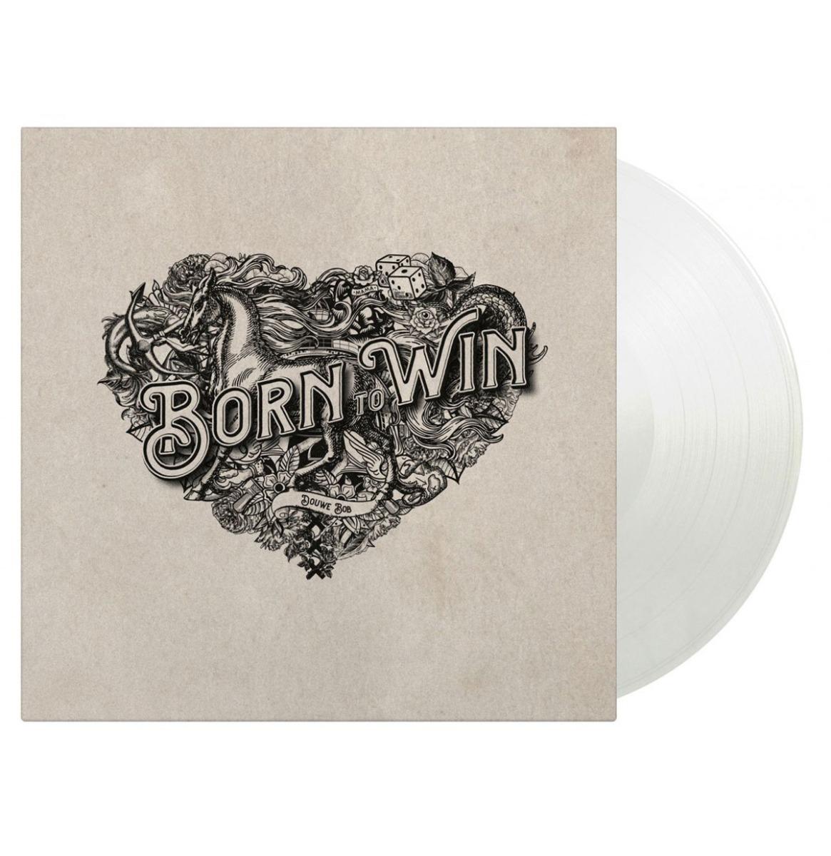 Douwe Bob - Born To Win, Born To Lose (Clear Vinyl) LP