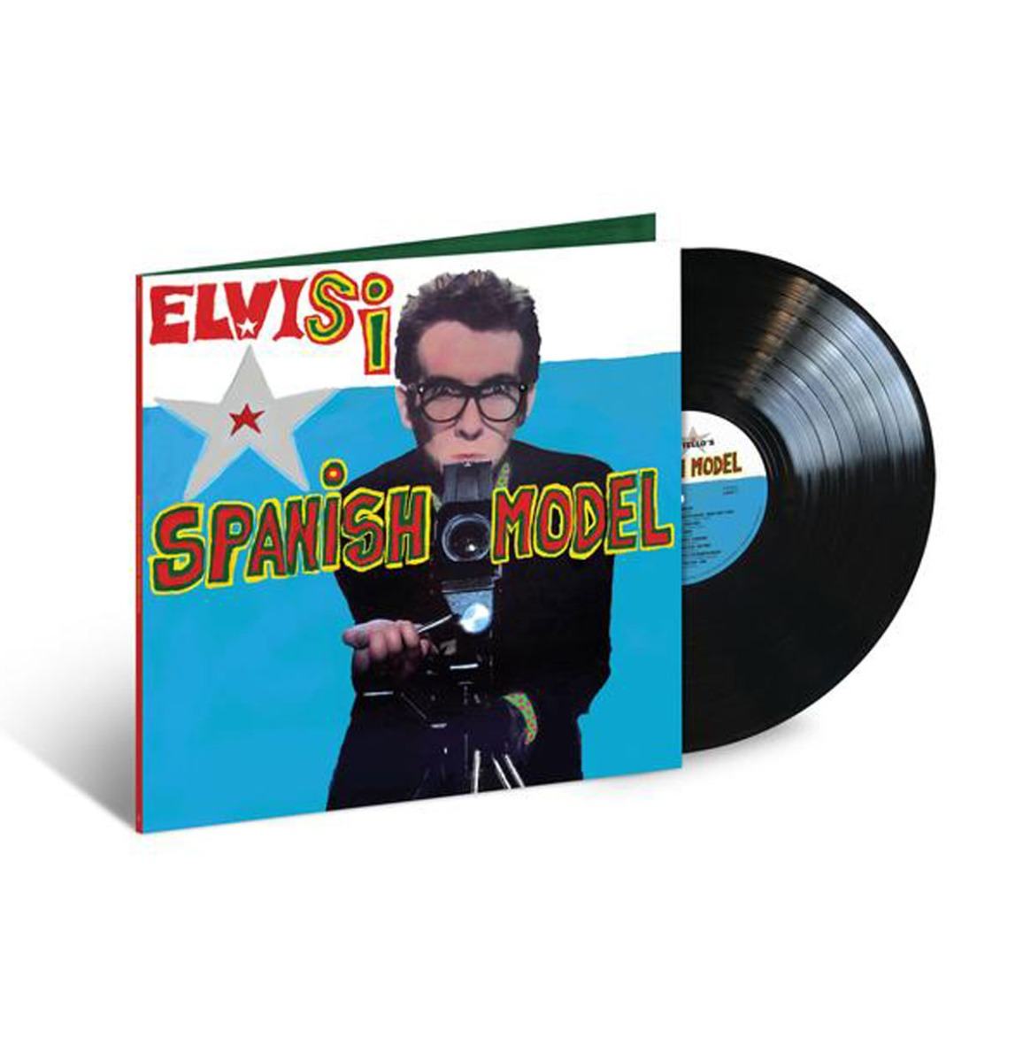 Elvis Costello & The Attractions - Spanish Model LP