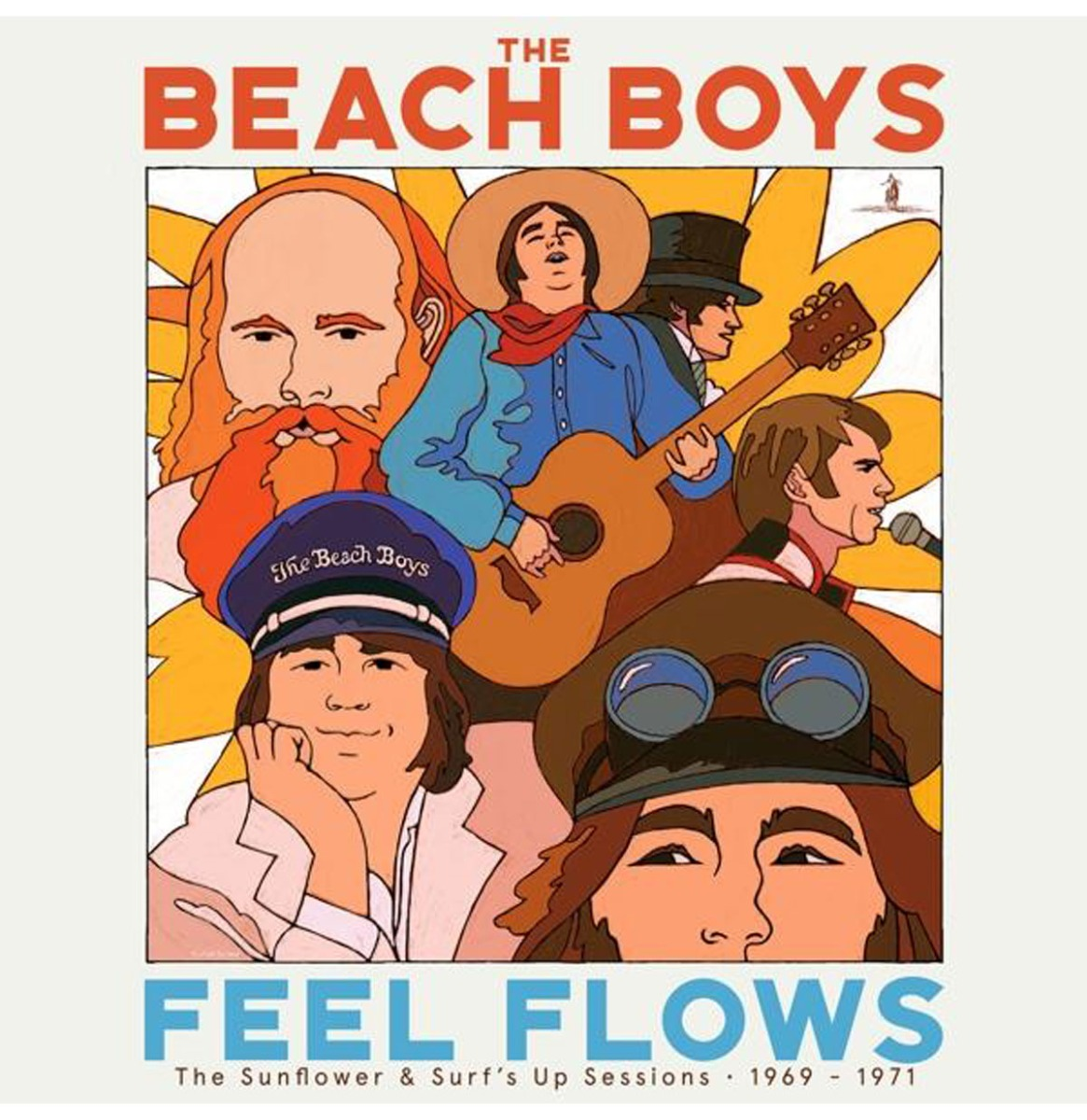 """The Beach Boys - """"Feel Flows"""" The Sunflower & Surf's Up Sessions 1969-1971 2LP"""