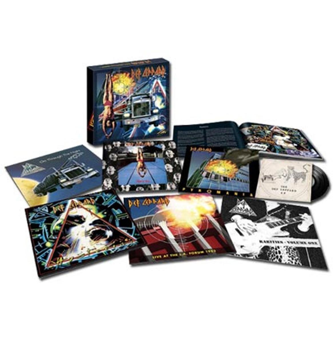 Def Leppard - 6-LP Vinyl Box Set Volume 1