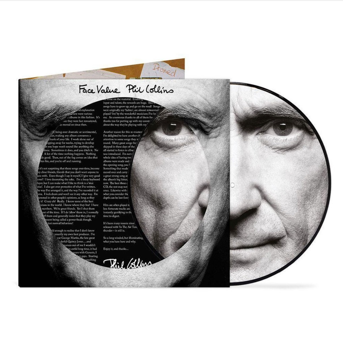 Phil Collins - Face Value ( Indie Only ) LP