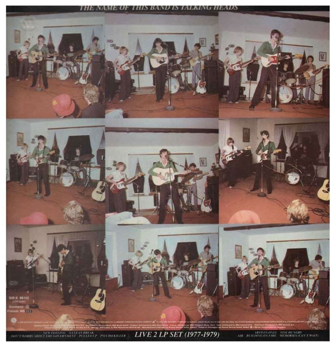 Talking Heads - The Name Of This Band Is Talking Heads 2-LP - Limited Edition