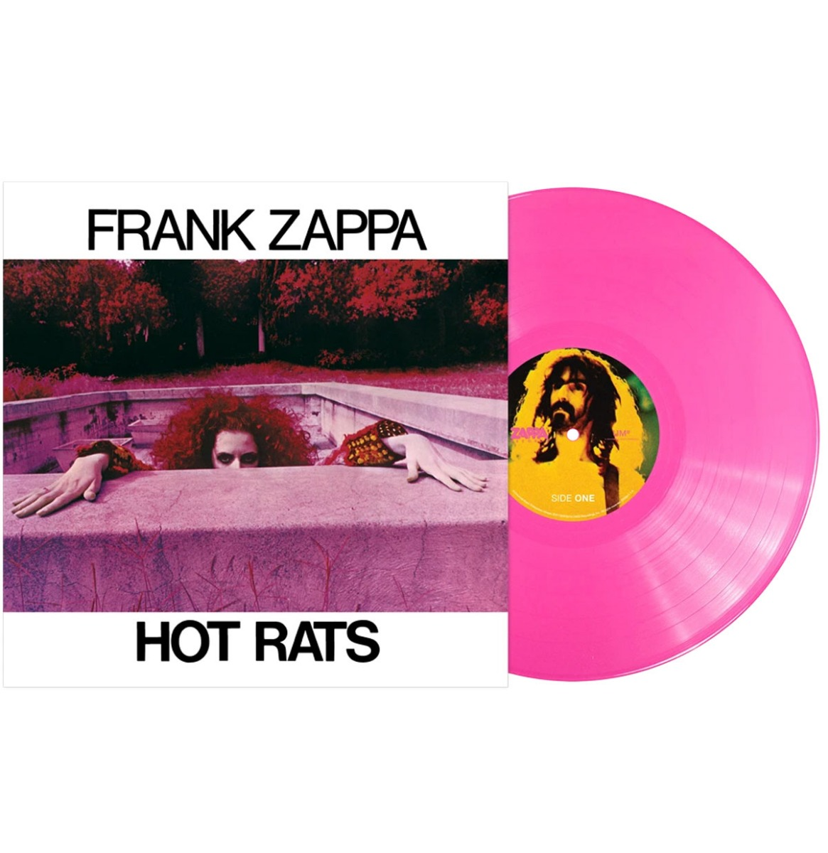 Frank Zappa - Hot Rats LP Beperkte Oplage