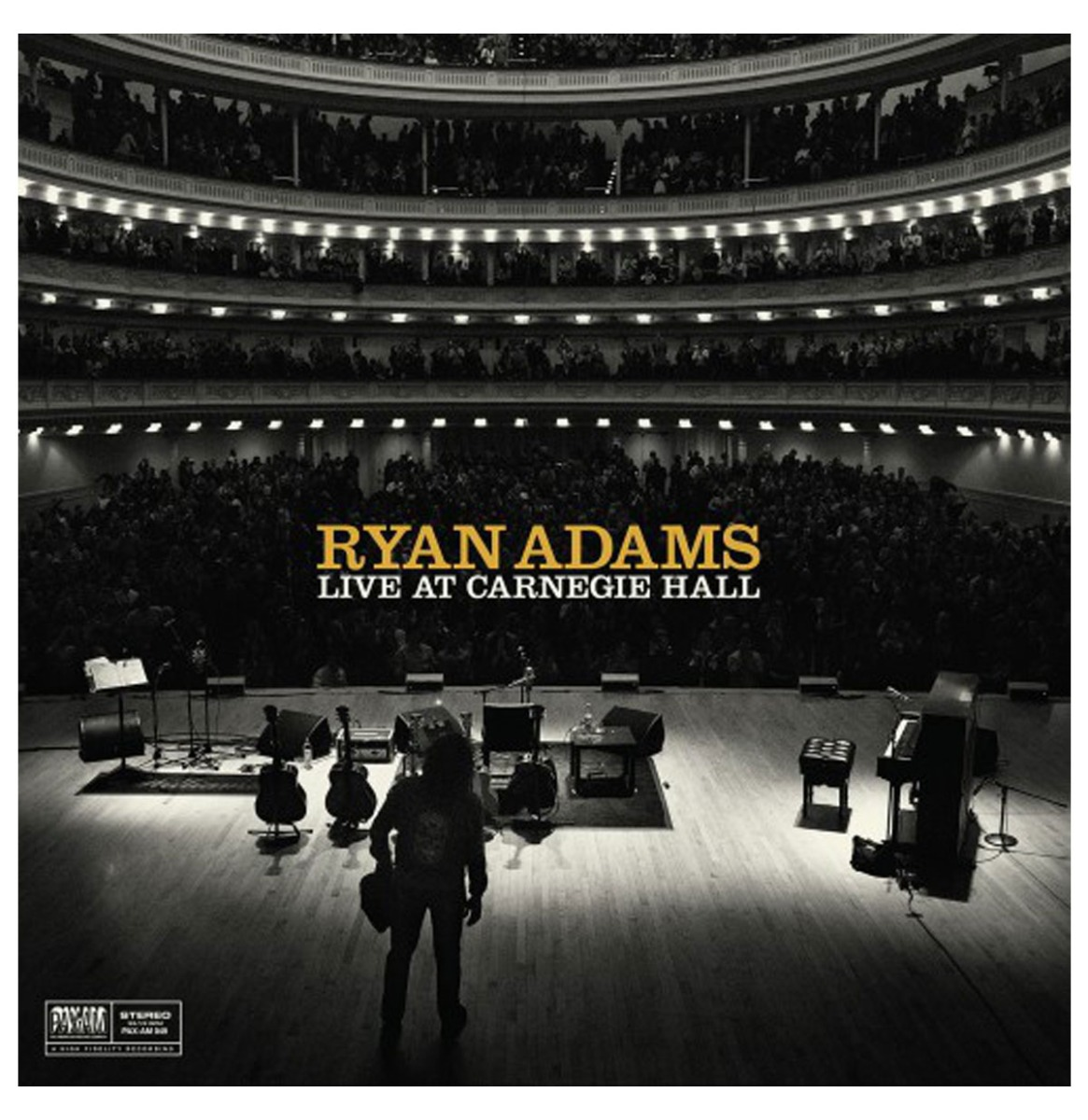 Ryan Adams - Ten Songs From - Live At The Carnegie Hall