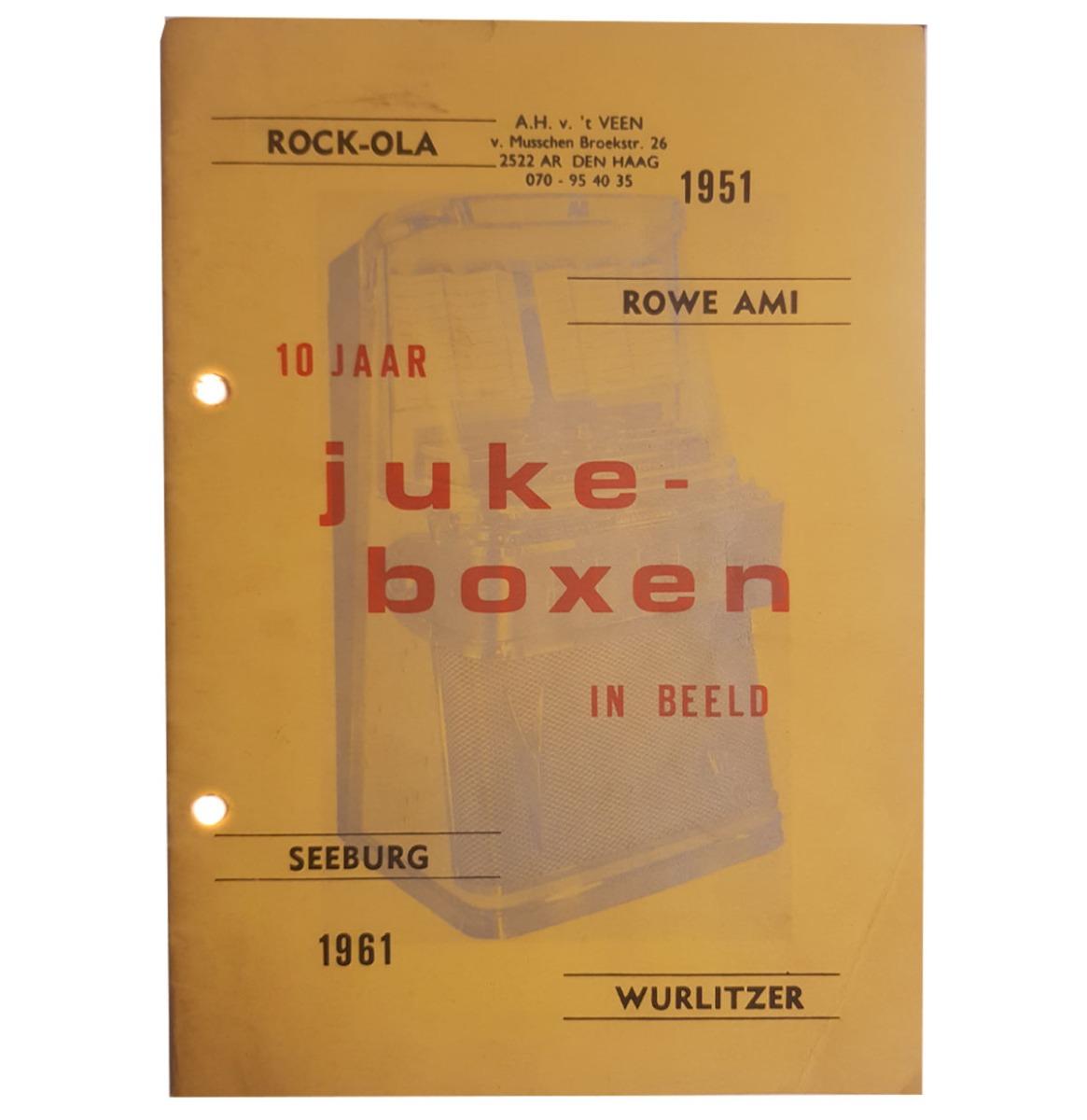 10 Jaar Jukeboxen In Beeld - Book - Nederlands Geschreven (2)