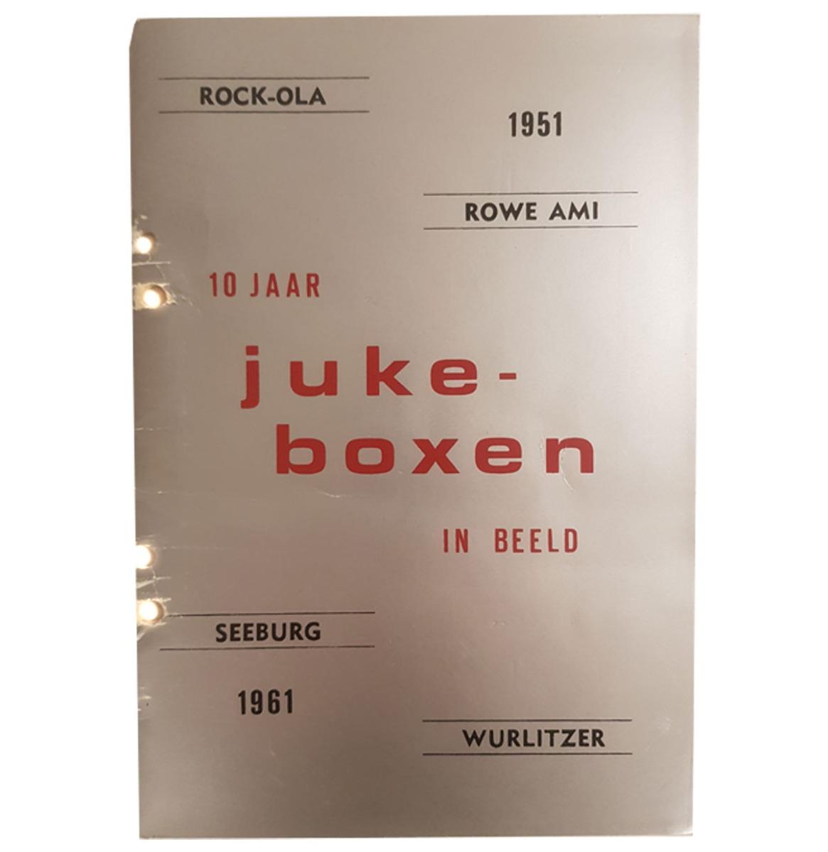 10 Jaar Jukeboxen In Beeld - Boek - Nederlands Geschreven