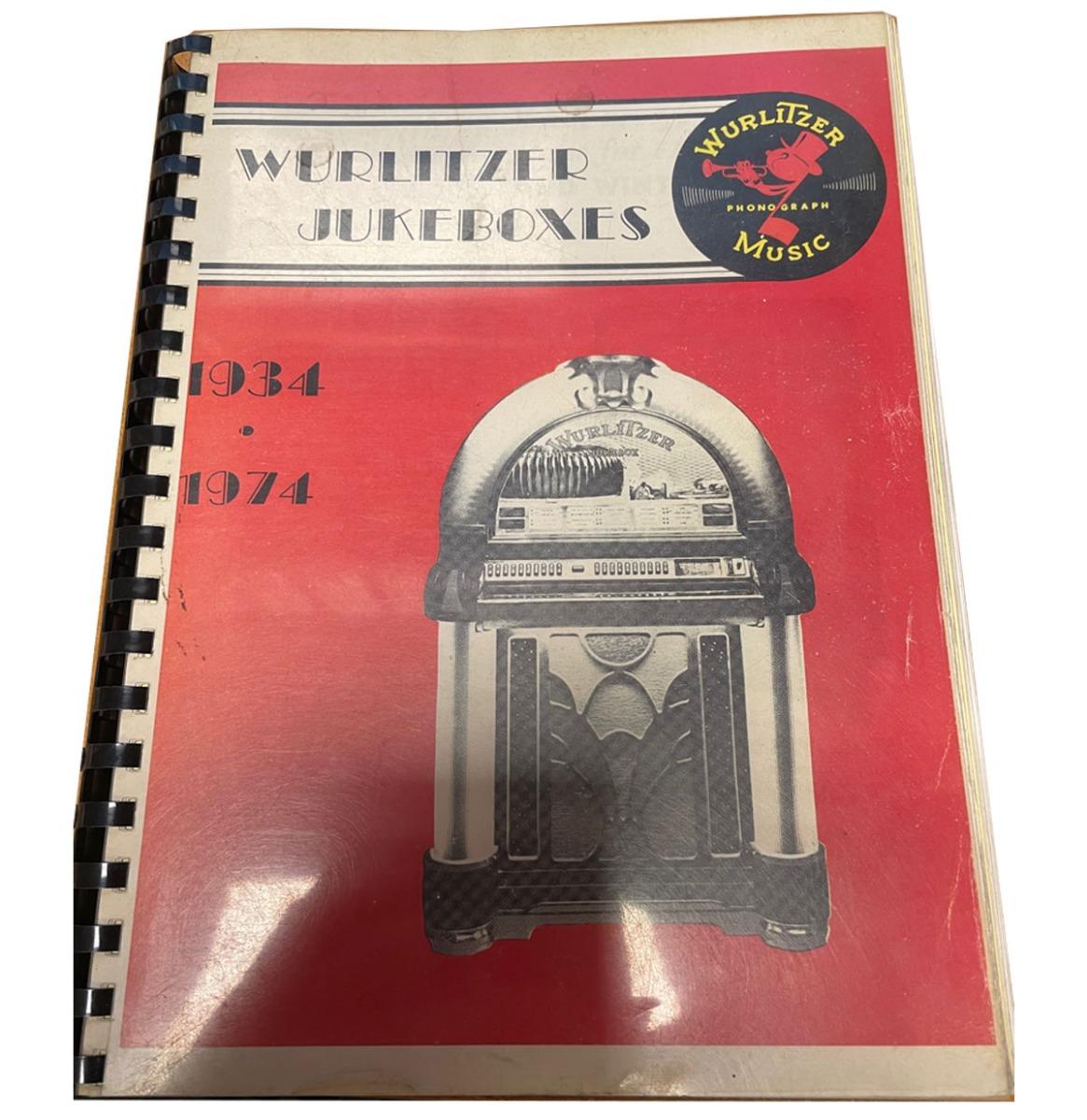 Wurlitzer Jukeboxes 1934-1974 Boek - Kopie