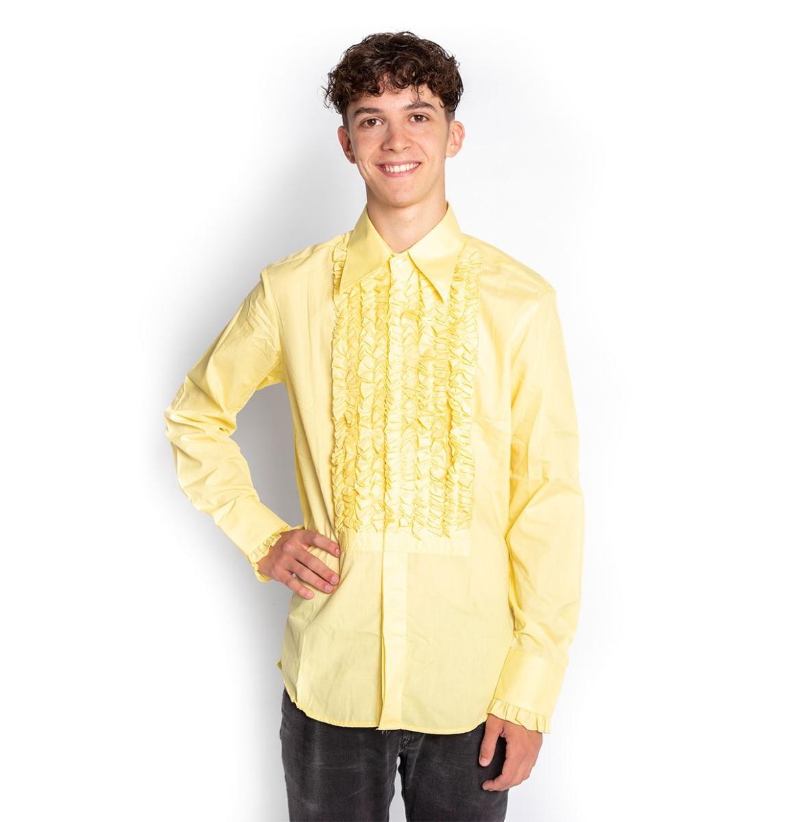 Ruffles Shirt Geel