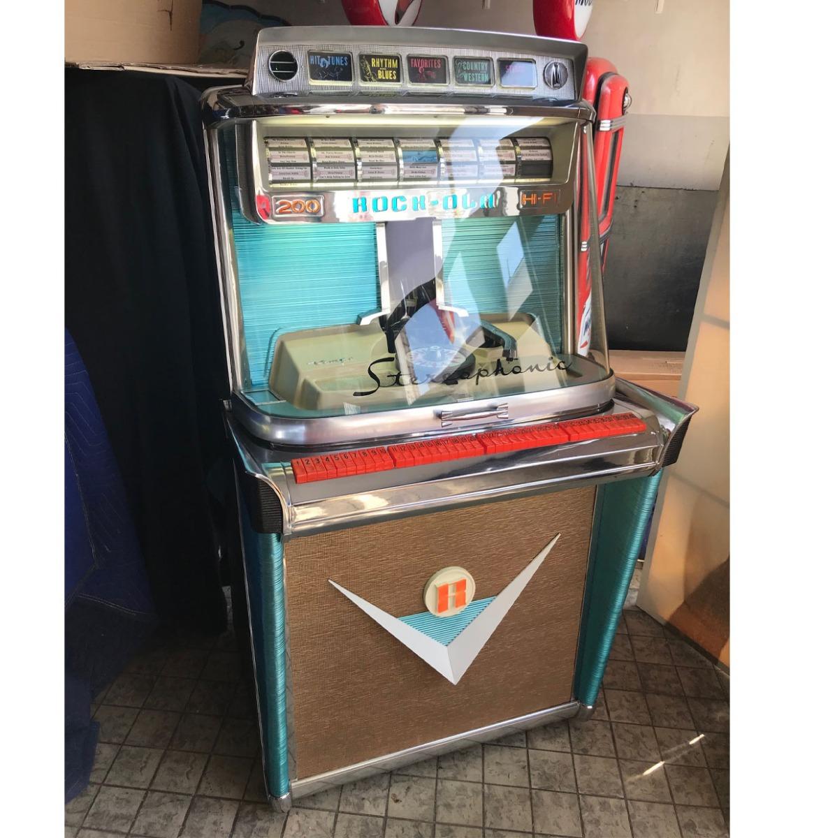 Rock-Ola Tempo I 1475 ST Jukebox - Zeldame Stereophonic Model 1959