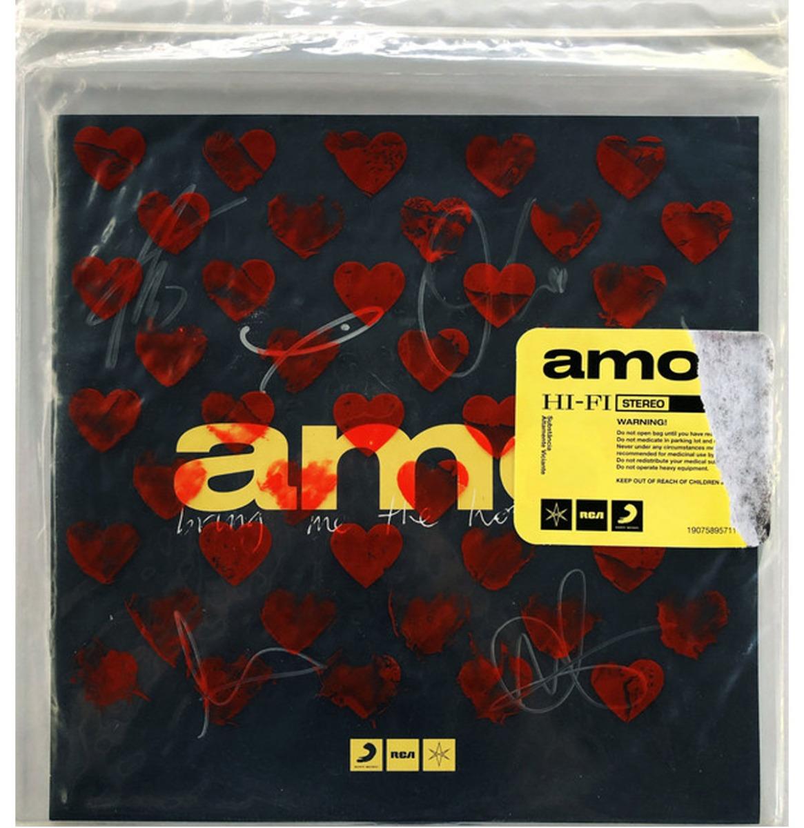 Bring Me The Horizon - Amo (Transparant Vinyl) 2LP
