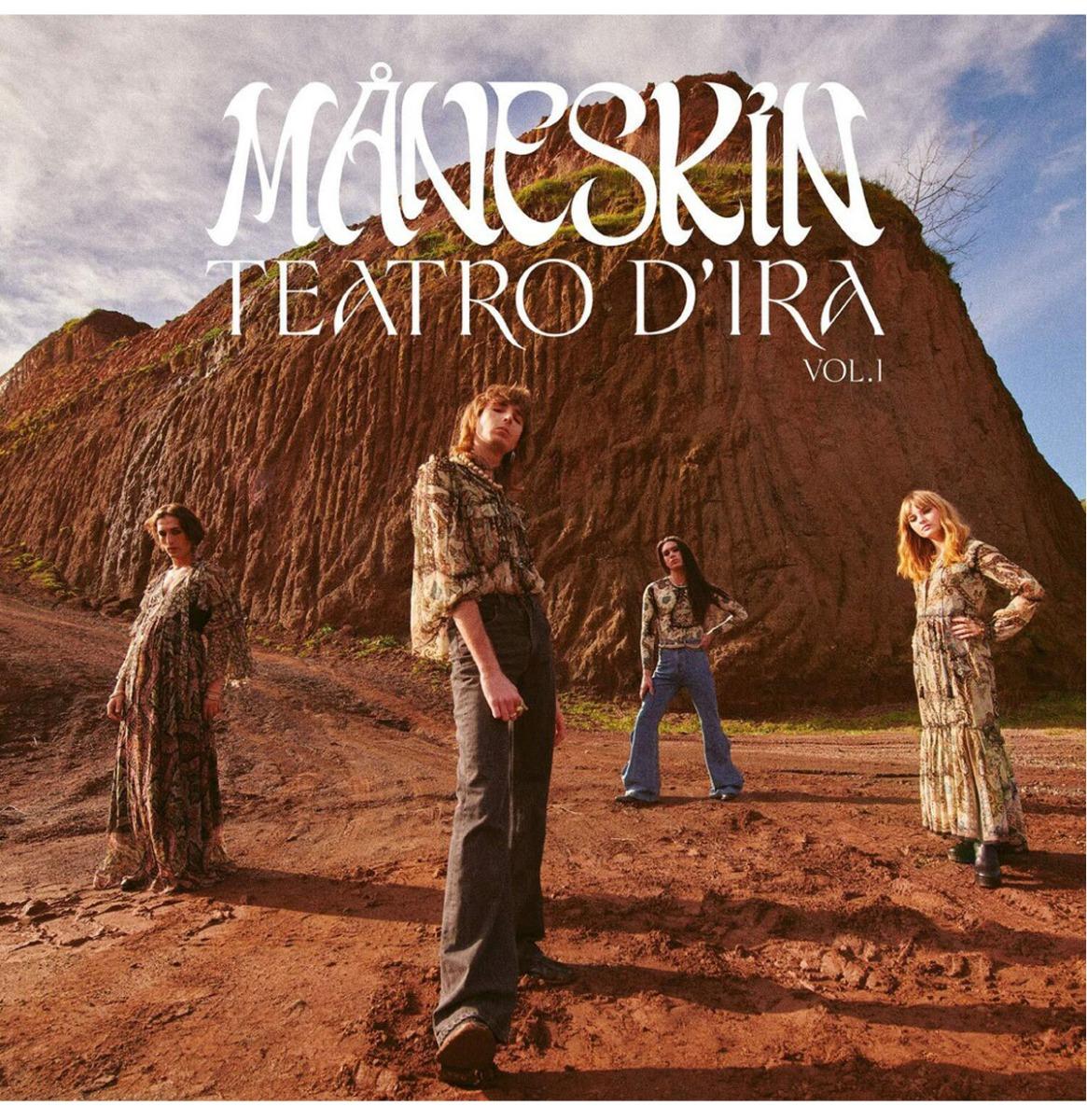 Måneskin - Teatro D'Ira Vol. 1 (Gekleurd Vinyl) LP