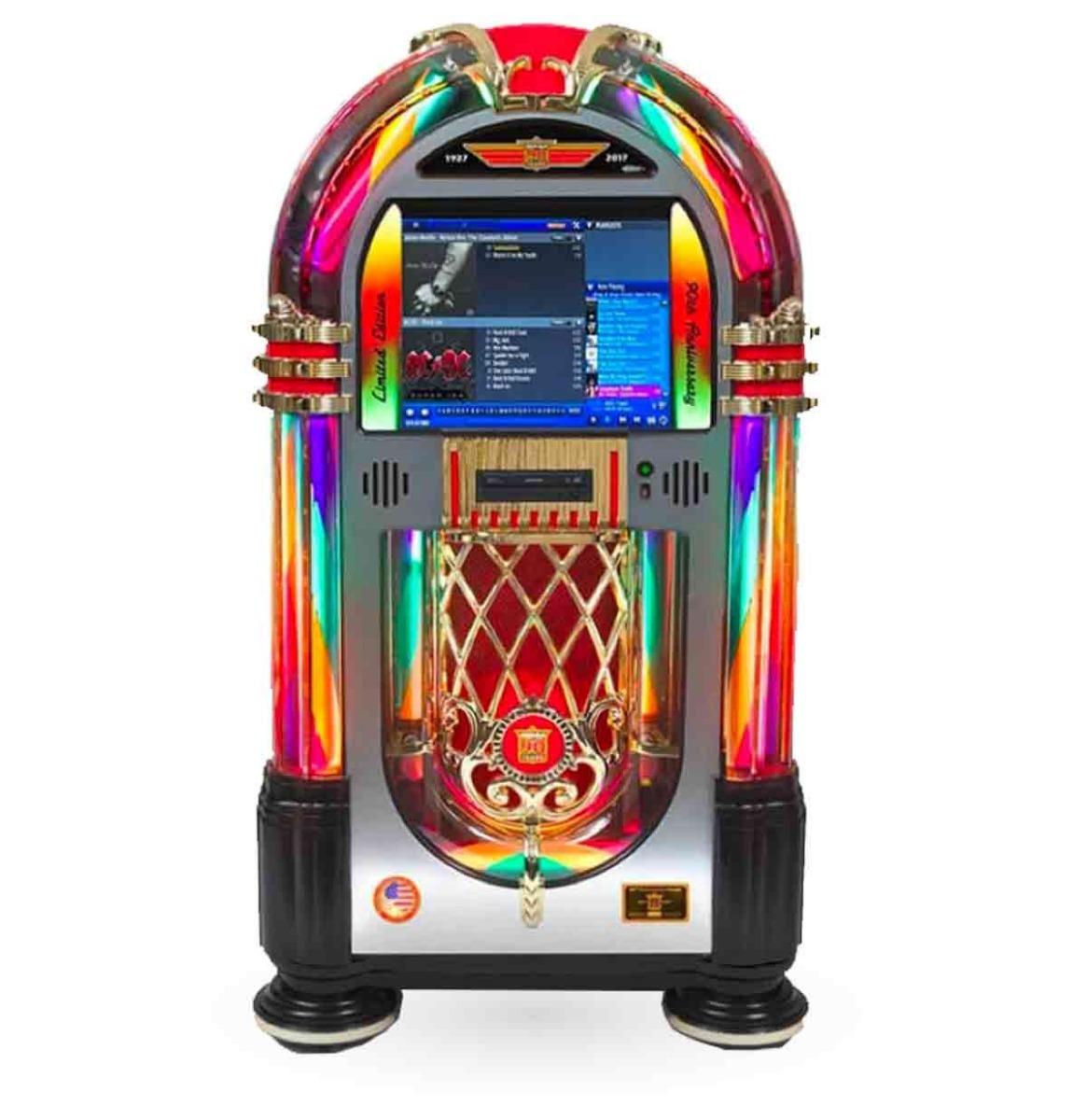 Rock-Ola Bubbler Digital Music Center Jukebox - 90 Jarig Jubileummodel