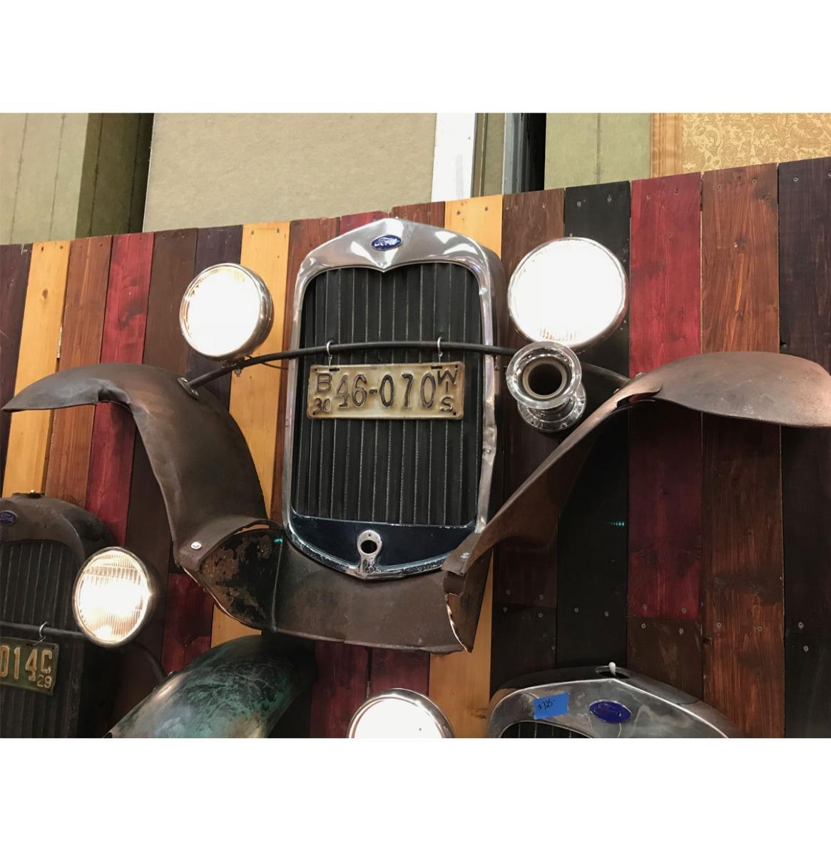 Ford Model A Grill En Zijbumpers - Origineel