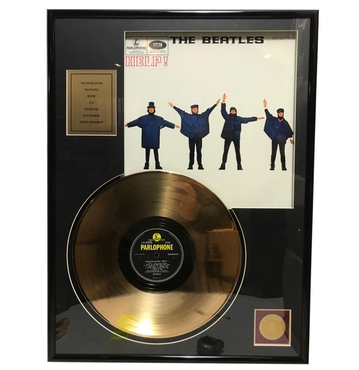 The Beatles - Help 24KT Gouden Plaat LP