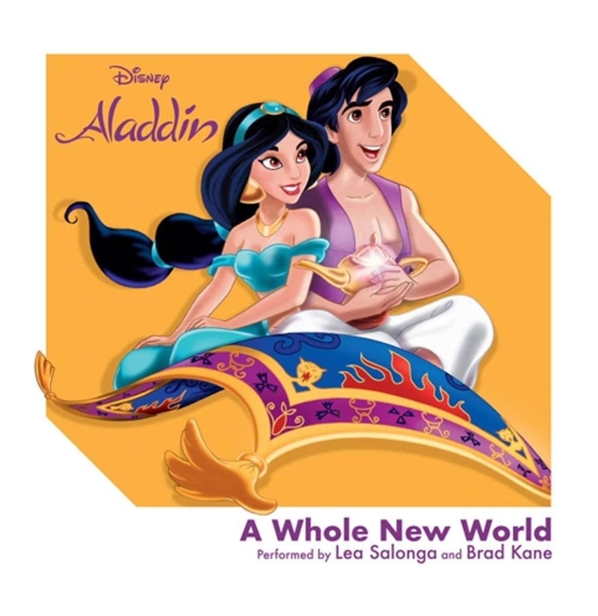 "Disney's Aladdin 3 Inch Mini Single - ""A Whole New World"""