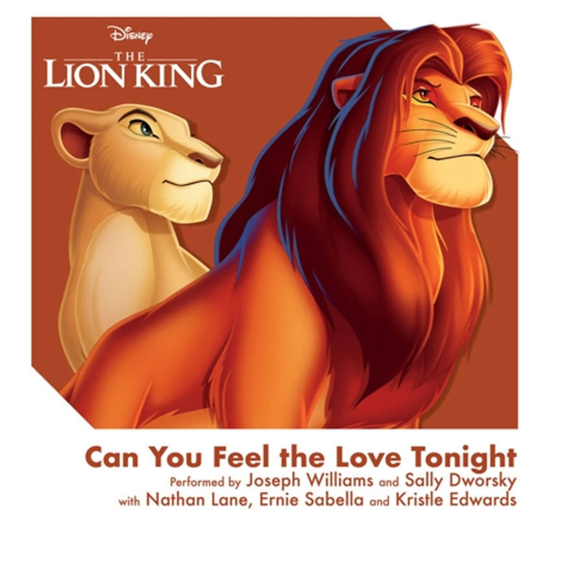Disney's The Lion King 3 Inch Mini Single - Can You Feel The Love Tonight