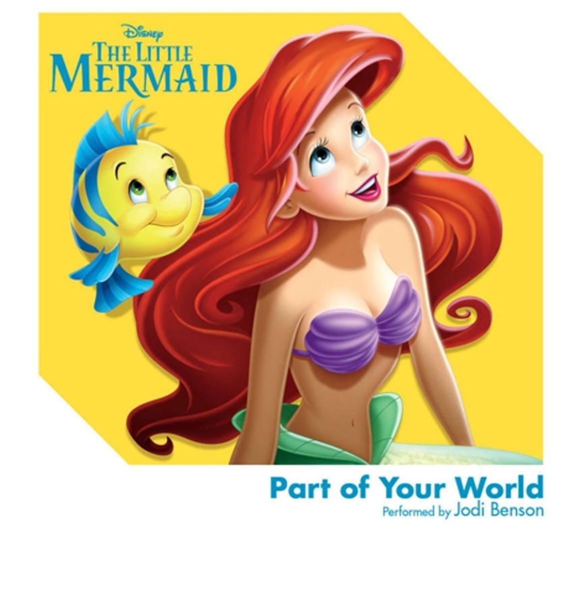 Disney's The Little Mermaid 3 Inch Mini Single - Part of Your World