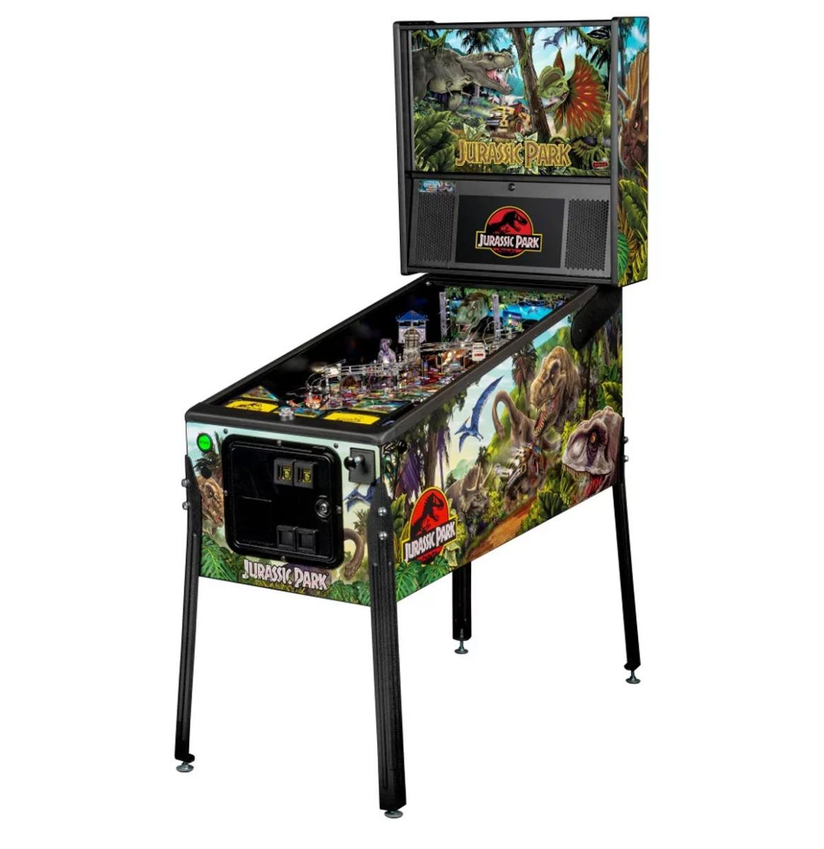 Jurassic Park Flipperkast - Stern - Pro Editie