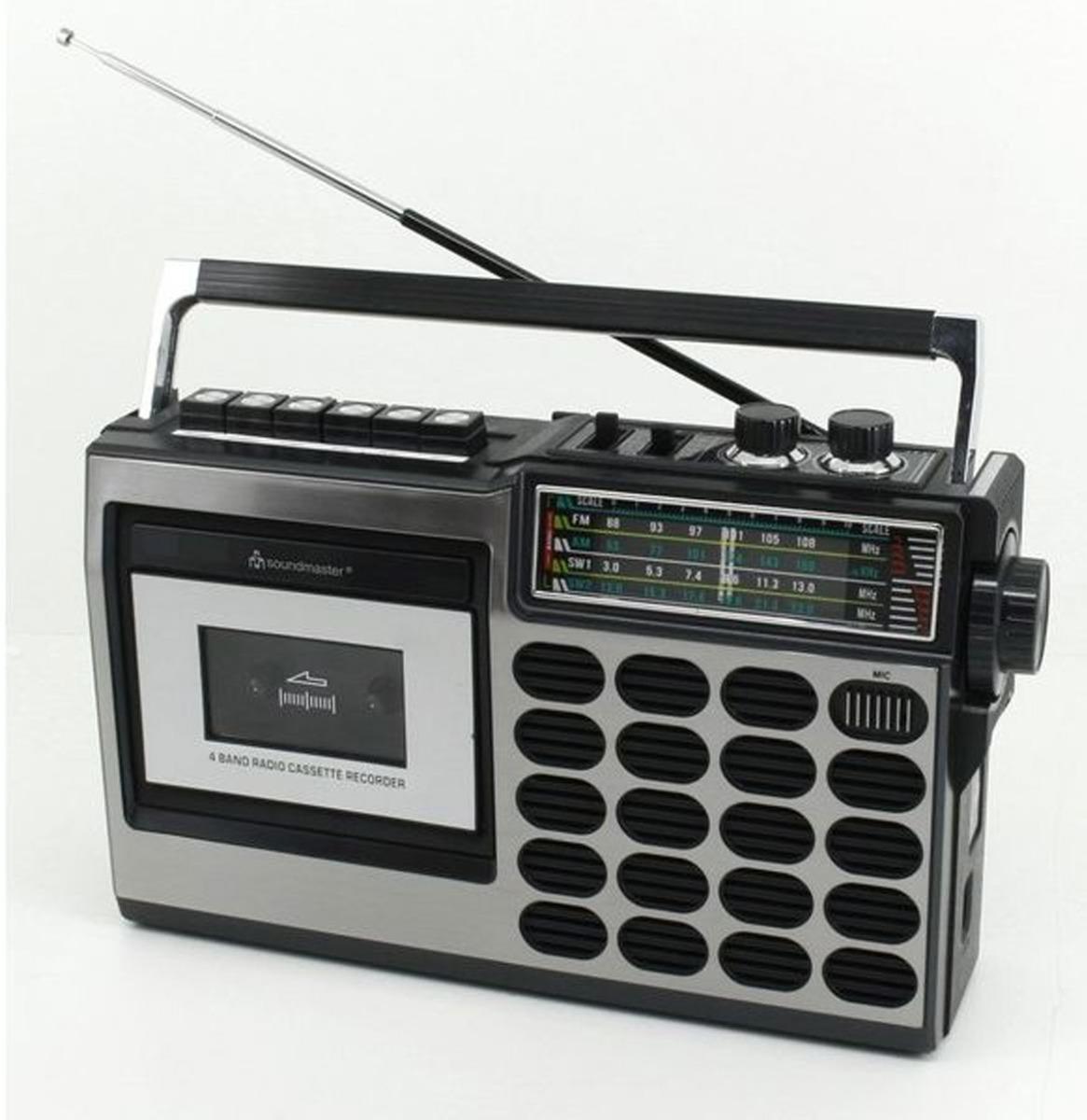 Soundmaster RR18SW Radio Cassette Recorder - Met Bluetooth