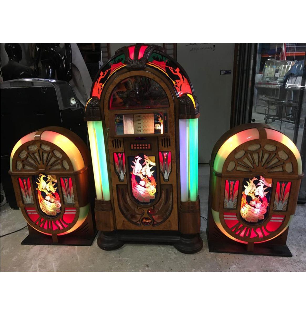 Antique Apparatus Gazelle Jukebox - 45RPM - 200 Selecties - 90's Model - Met 2 Speakers