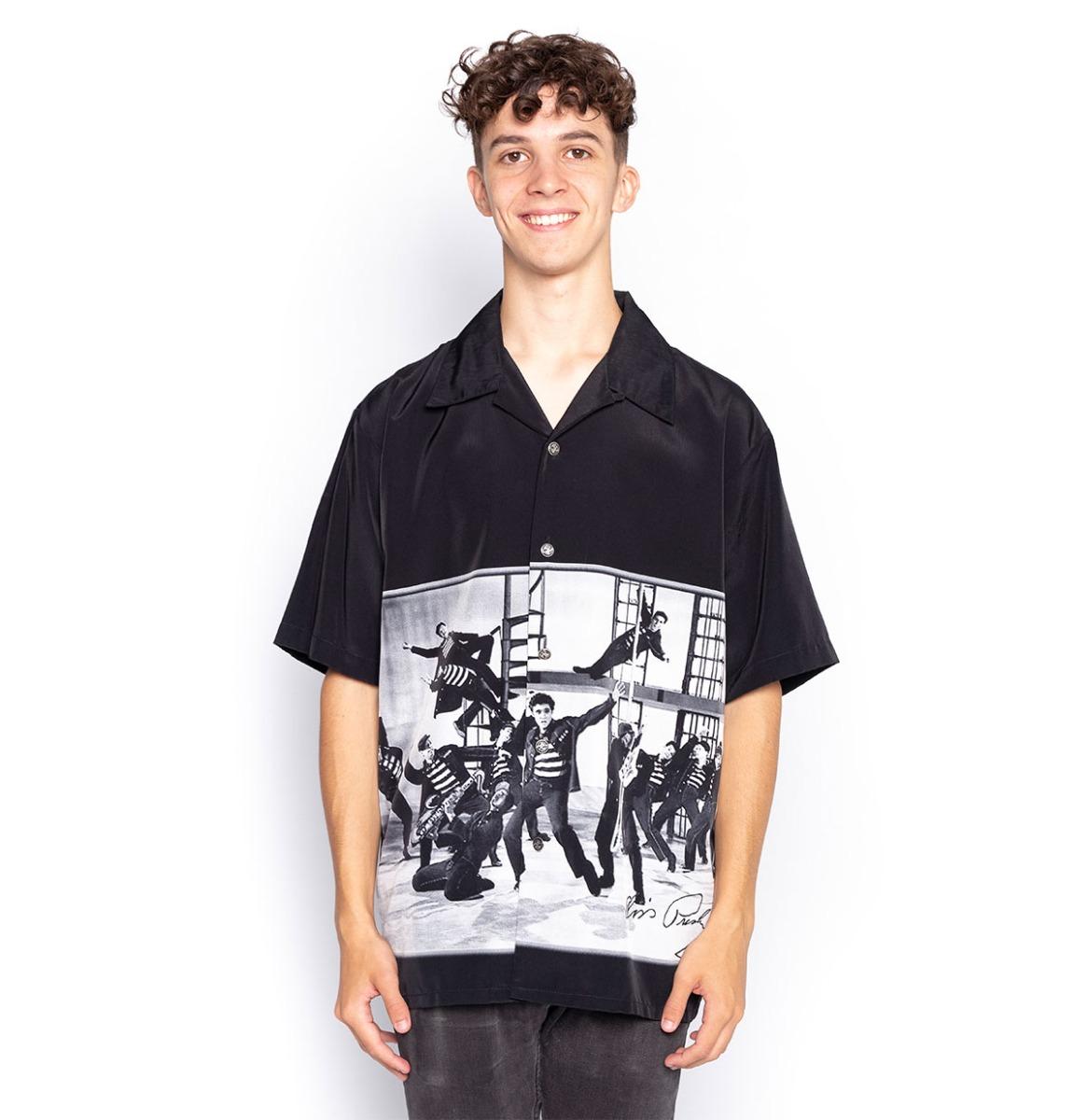 Ex Verhuur Elvis Presley Jailhouse Rock Shirt - Medium