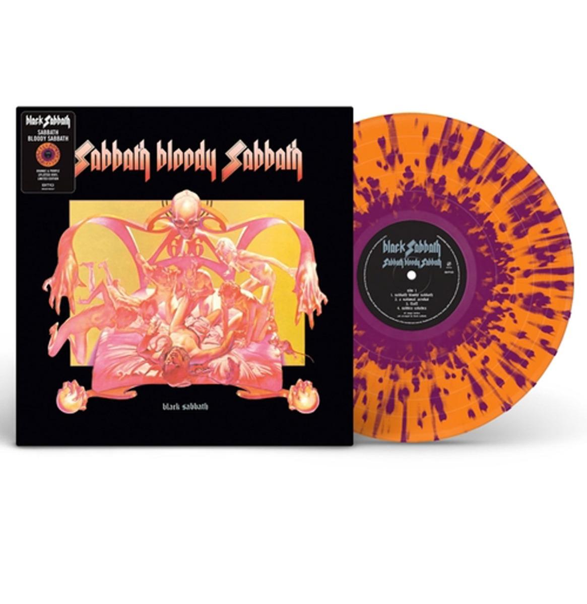 Black Sabbath - Sabbath Bloody Sabbath (Gekleurd Vinyl) LP