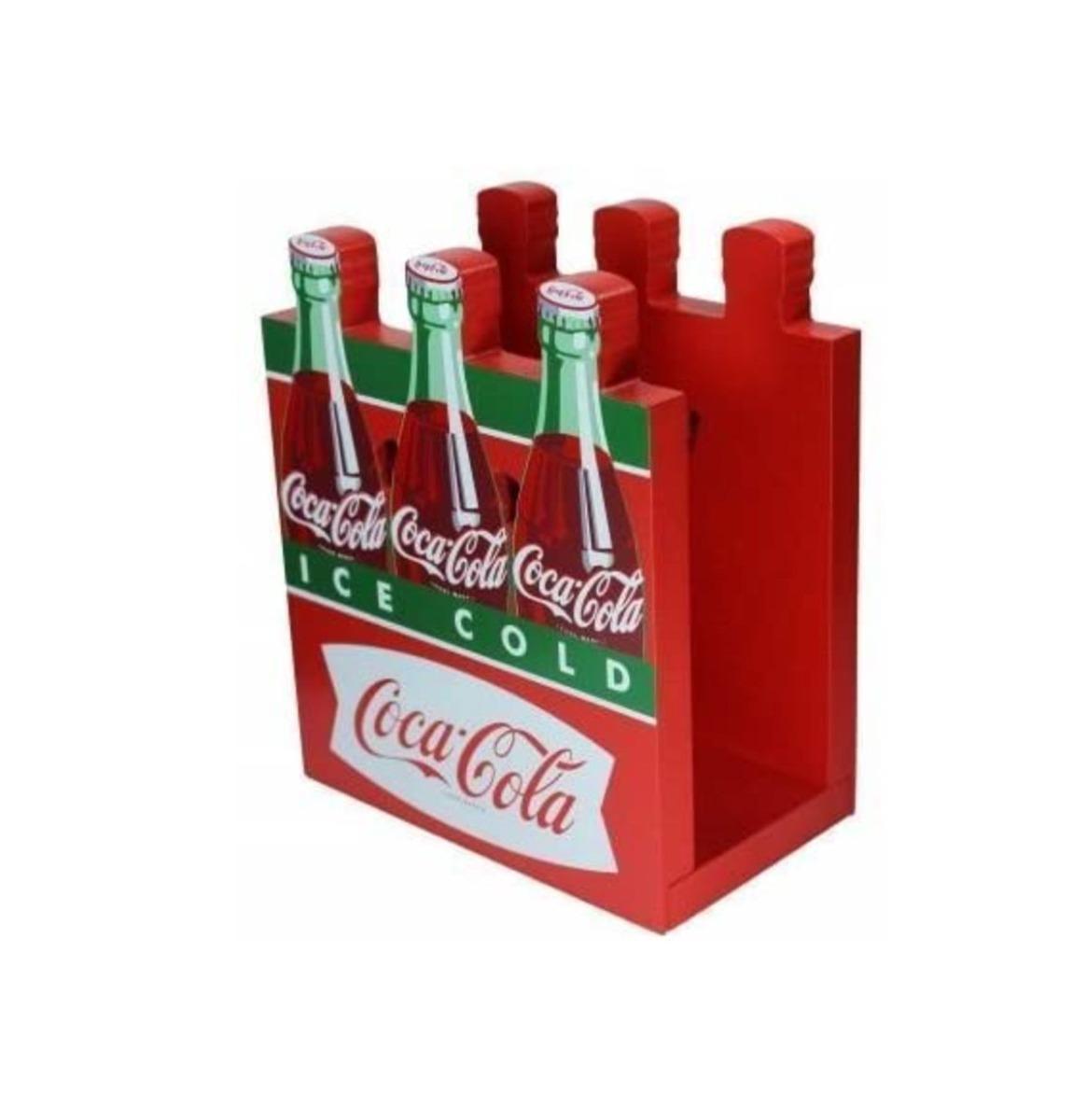Coca-Cola Fishtail Design Six-Pack Servethouder
