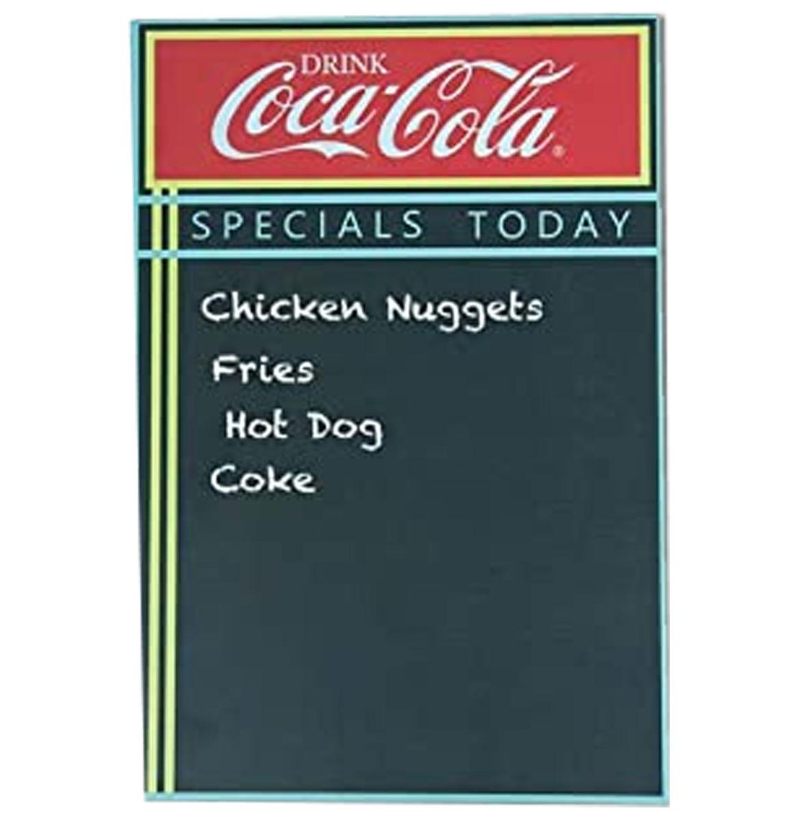 Coca-Cola Specials Today Krijtbord Menu