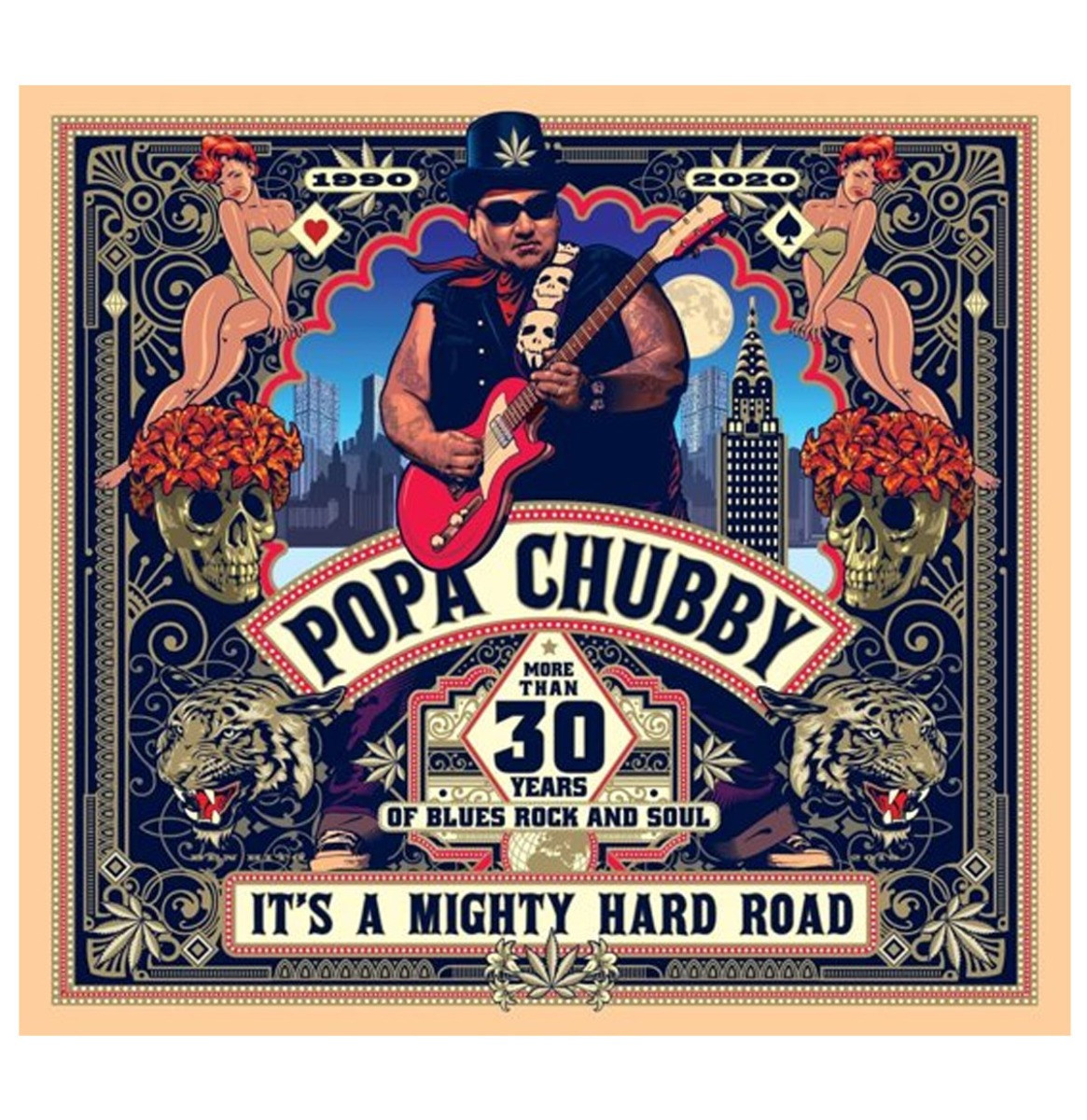 Popa Chubby - It's A Mighty Hard Road 2-LP