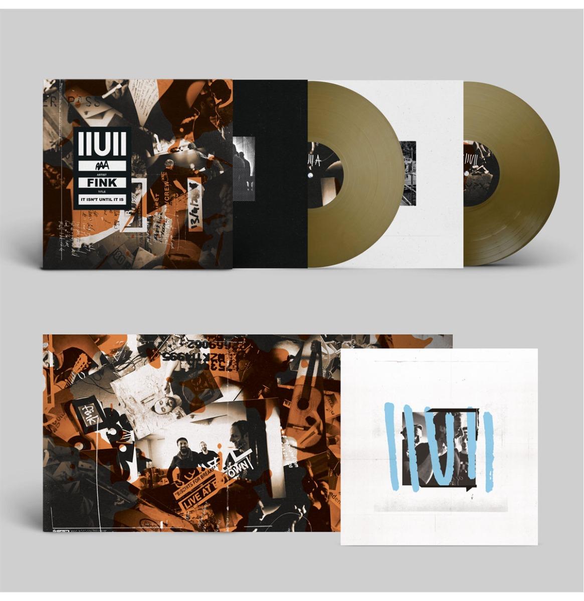 Fink - IIUII (It Isn't Until It Is) (Gekleurd Vinyl) 2LP