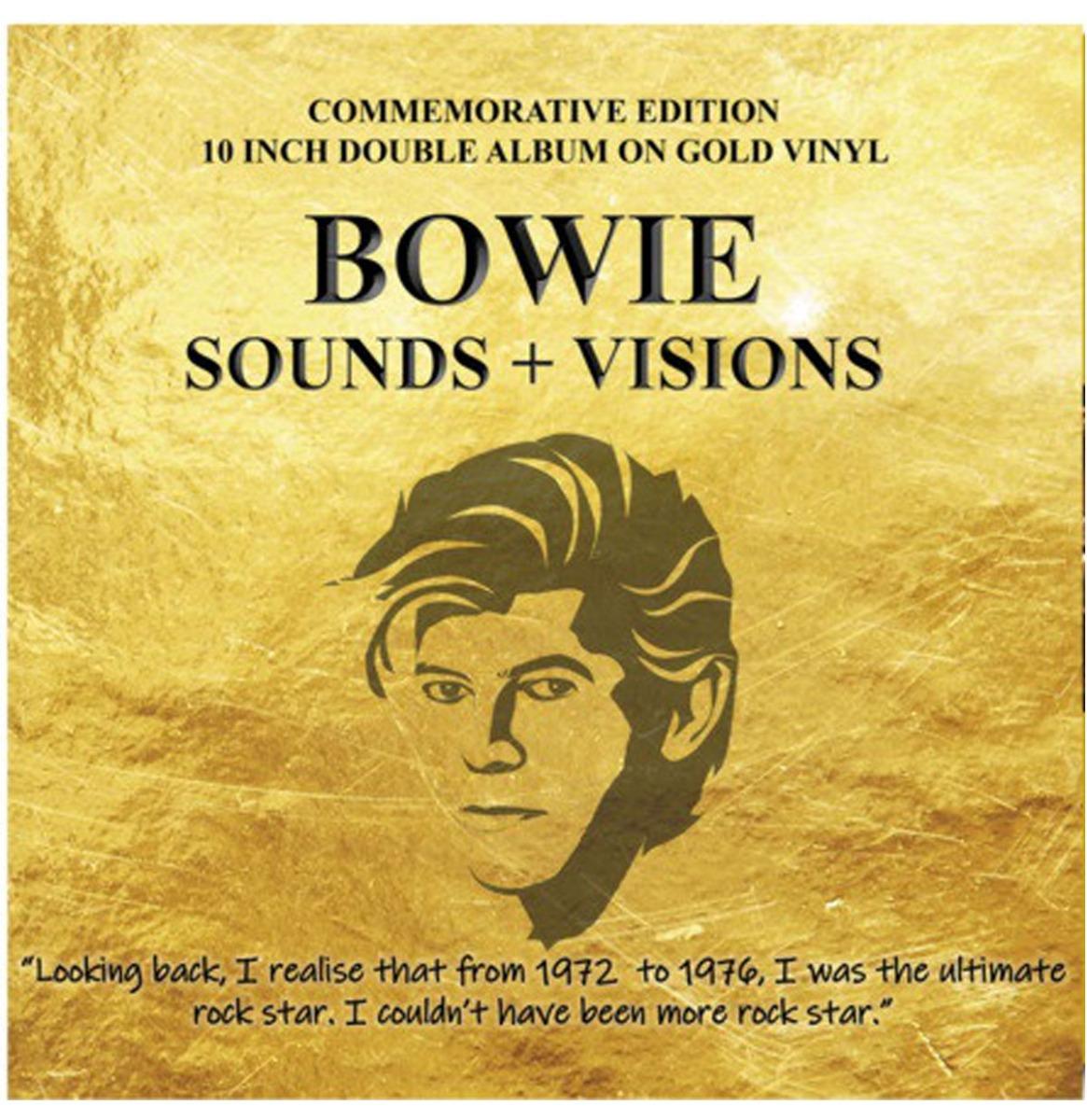 David Bowie - Sounds + Visions 10'' Goud Vinyl