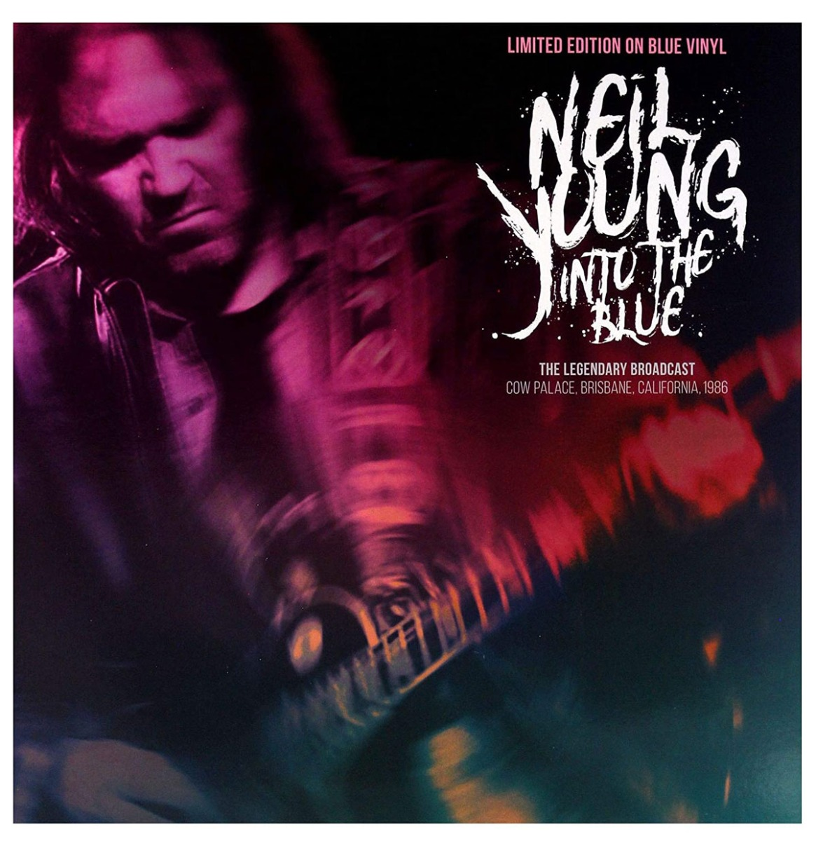 Neil Young - Into The Blue LP - Beperkte Oplage