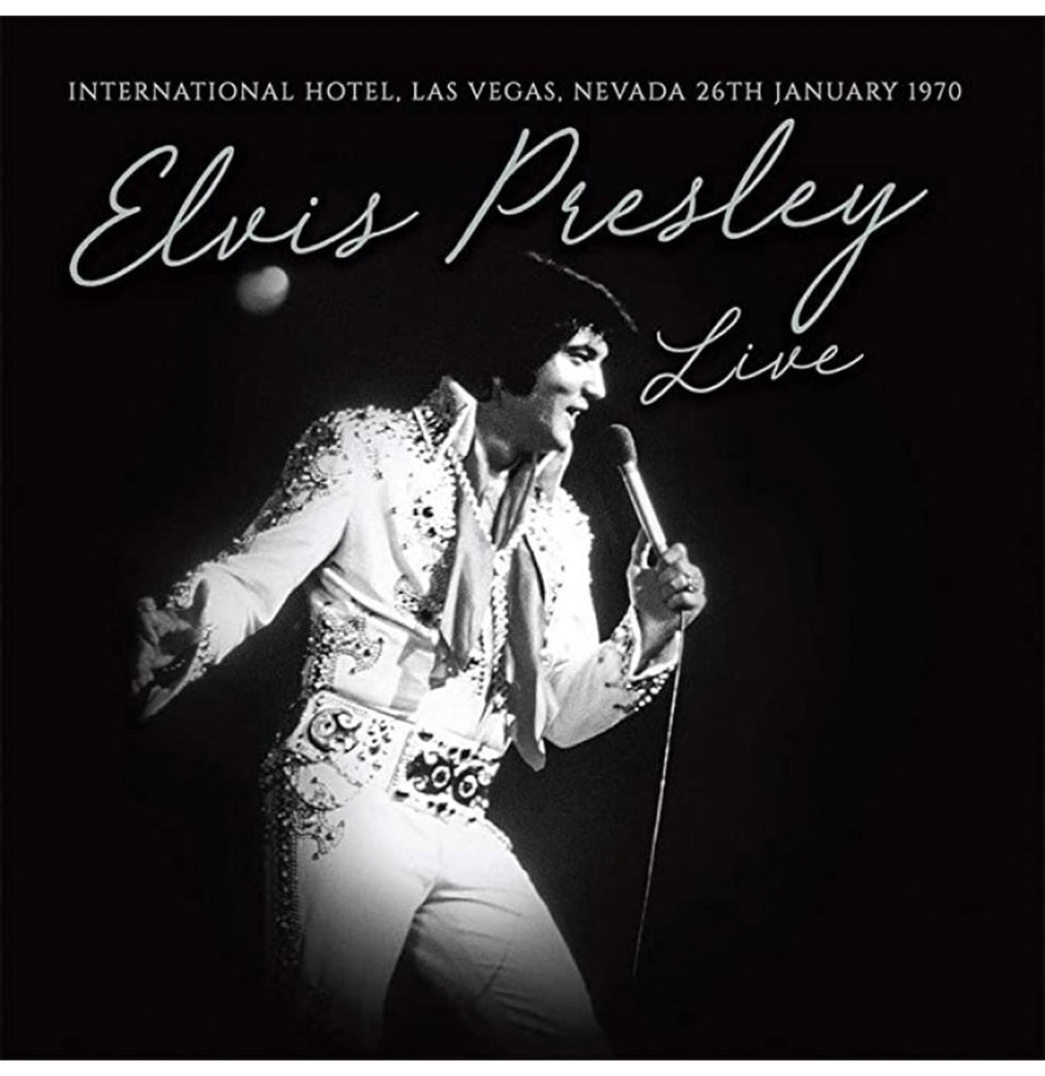 Elvis Presley - Live International Hotel Las Vegas Wit Vinyl LP