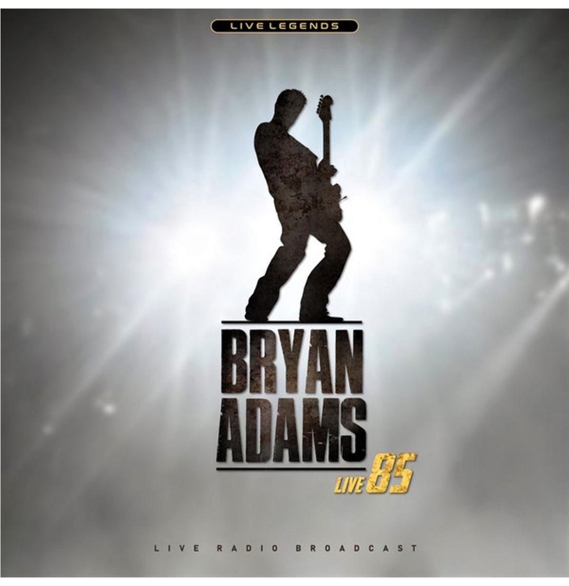 Bryan Adams - Live 85 (Clear Vinyl) LP