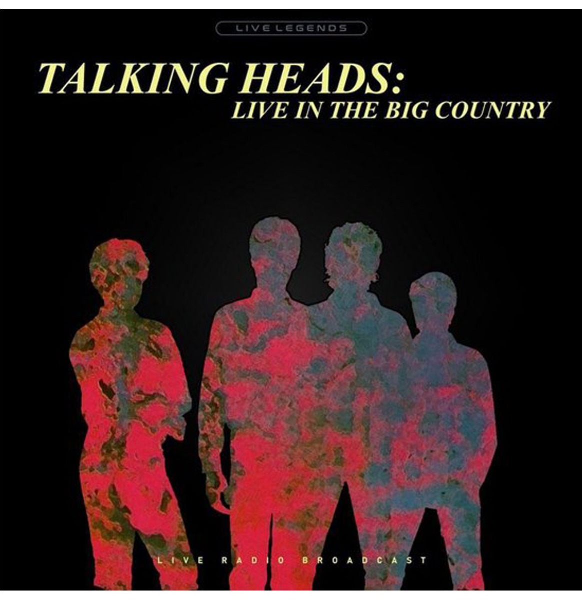 Talking Heads - Live In The Big Country (Violet Vinyl) LP