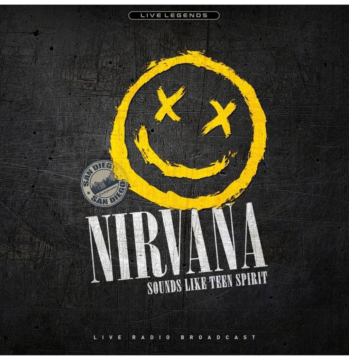Nirvana - Sounds Like Teen Spirit (Geel Vinyl) LP