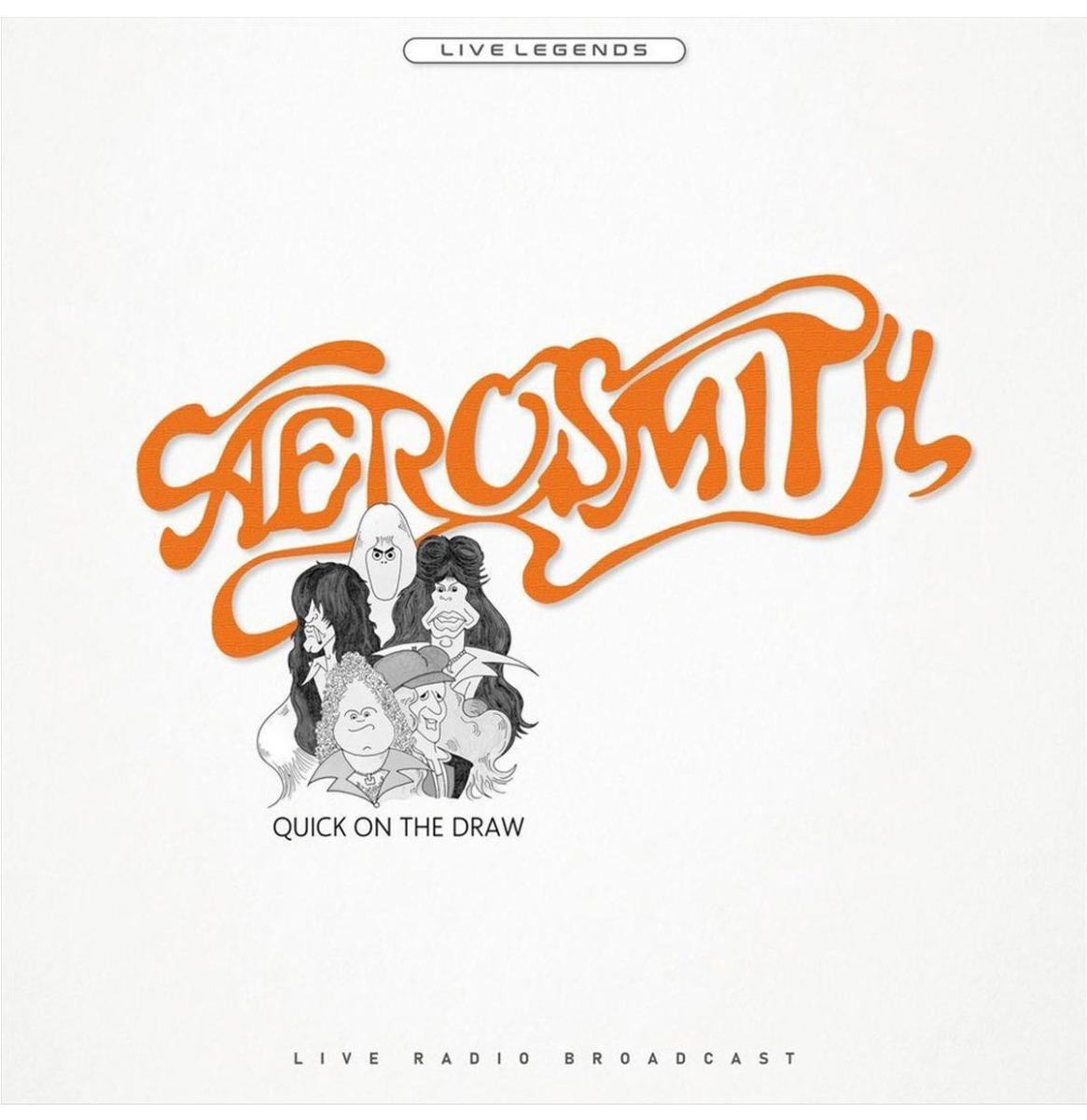 Aerosmith - Quick On The Draw (Oranje Vinyl) LP