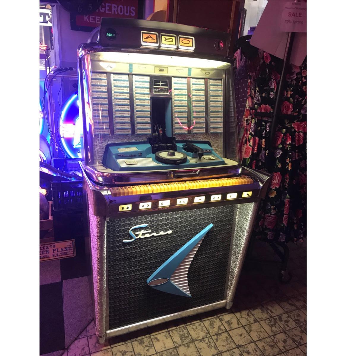Rock-Ola Model 1478 Tempo 2 Jukebox - 120 Selecties - Gerestaureerd
