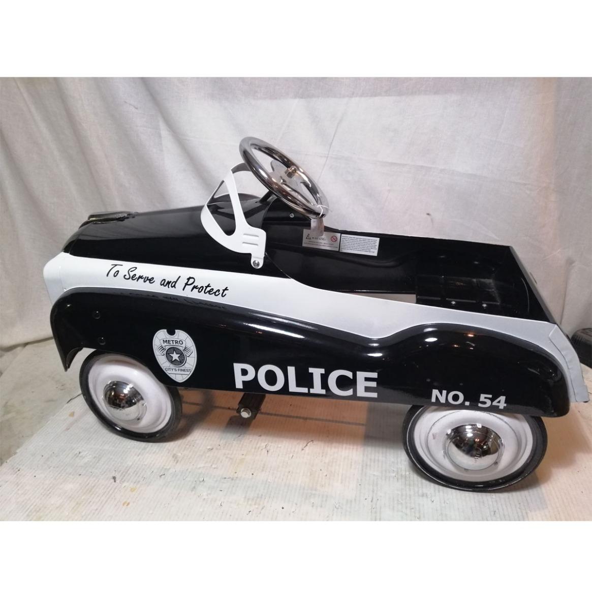 Metro City's Finest Politie Trapauto