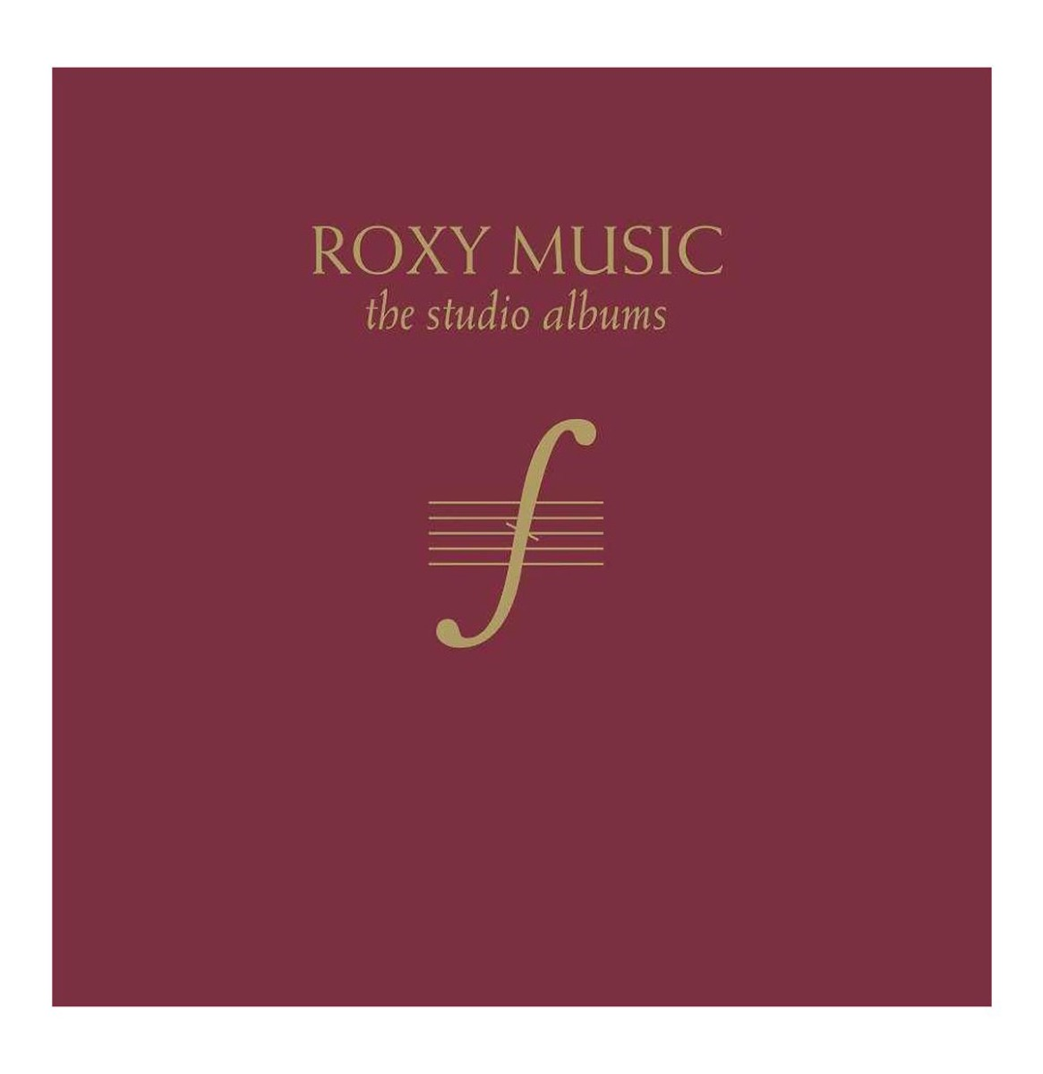 Roxy Music - The Studio Albums (Limited Edition Box Set)