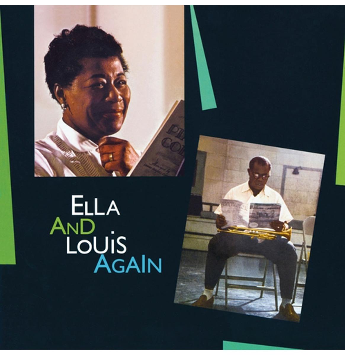 Ella Fitzgerald & Louis Armstrong - Ella And Louis Again (Gekleurd Vinyl) LP
